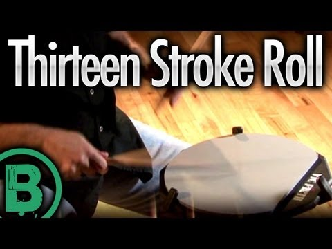 Thirteen Stroke Roll - Drum Rudiment Lessons