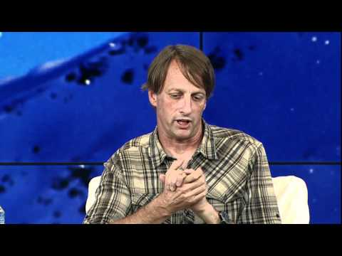 Game On - Tony Hawk & Scooter Braun at Zeitgeist Americas 2011