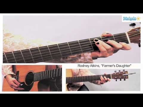 How to Play Farmer's Daughter by Rodney Atkins Guitar