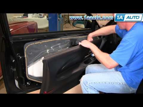 How To Install Replace Inside Door Handle Chevy Monte Carlo 00-07 1AAuto.com
