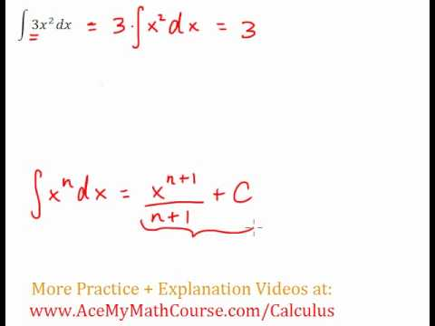 Antiderivative Question #1 (Indefinite Integral)