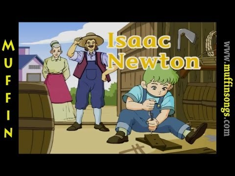 Muffin Stories - Isaac Newton | Children's Tales, Stories and Fables