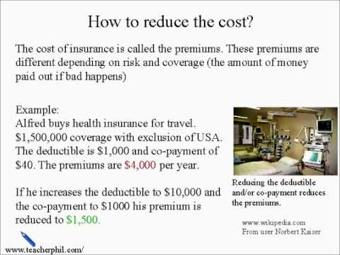 Business and Finance Lesson 10: Insurance (Learn English)