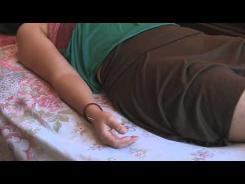 Acupuncture Treatment Demo for Stress Management and Stress Relief Therapy