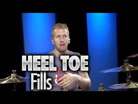Heel Toe Technique Drum Fills - Drum Lessons