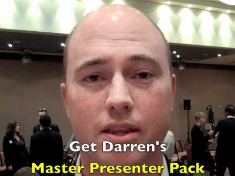 What do they say about Darren Master Presenters Pack