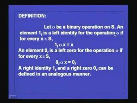Lecture 35-Algebras