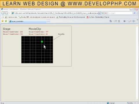 Detect User Mouse Coordinates - Read Capture Tutorial Flash CS3 CS4