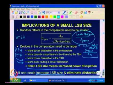 Mod-01 Lec-48 Flash ADC Case Study