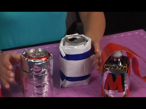 How to Make a Duct Tape Drink Koozie