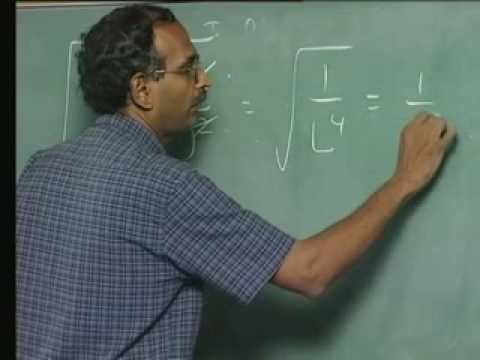 Lecture - 4 Harmonic Oscillator and Molecular Vibration