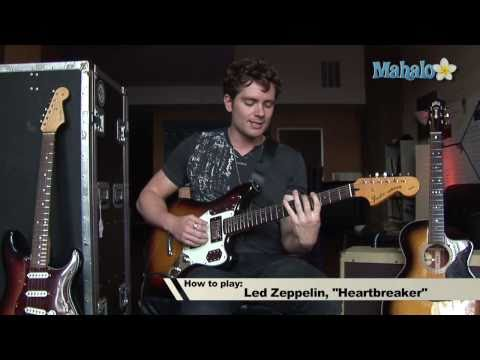 How To Play Heartbreaker By Led Zeppelin On Guitar