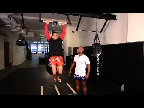 Pull-Up Exercise for Shoulder Fatigue | Muay Thai Exercises | MMA