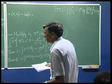 Mod-01 Lec-07 Instability and Transition of Fluid Flows