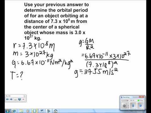 Universal Gravitation Presentation #17
