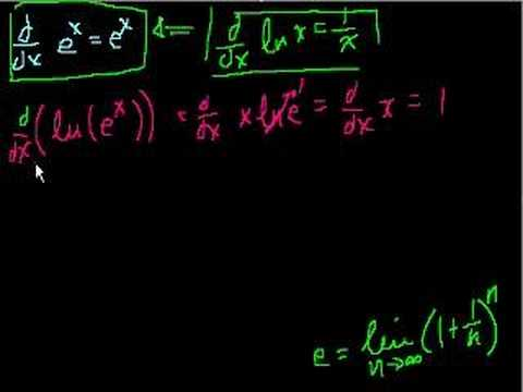 Proof: d/dx(e^x) = e^x