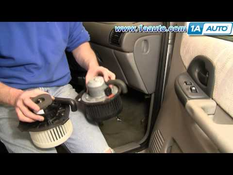 How To Install Replace Heat A/C Fan or Blower Motor Chevy Venture Pontiac Montana 97-05 1AAuto.com