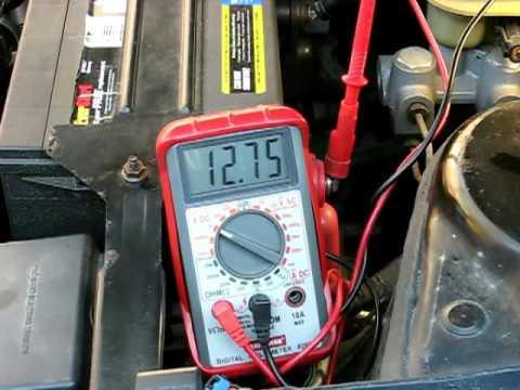 In Car Alternator Testing Updated