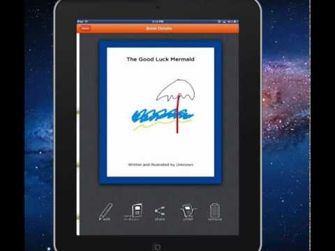 Check out Scribble Press and make an ebook right from your iPad!