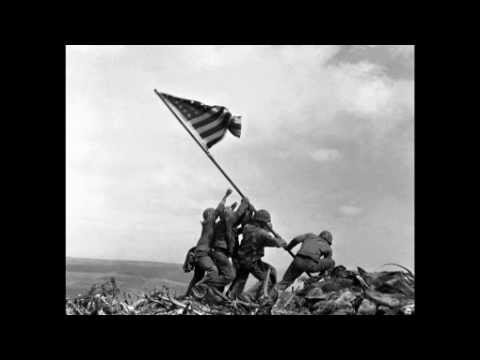Marines Raise the Flag on Iwo Jima