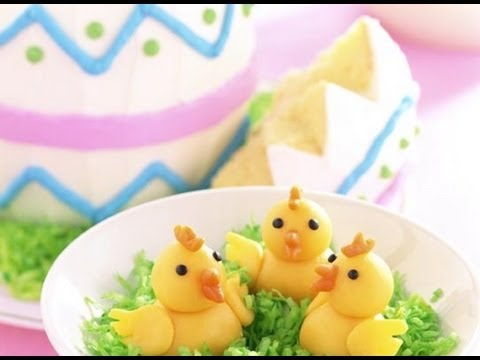 How to Decorate an Easter Cake