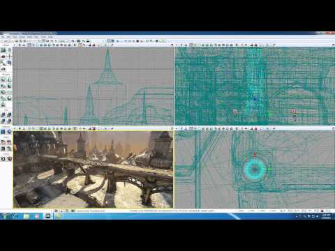 Unreal Development Kit UDK Tutorial - 6 - Lock Viewport and Camera Speed