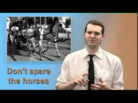 "Express Yourself #04 ""Don't spare the horses!"""