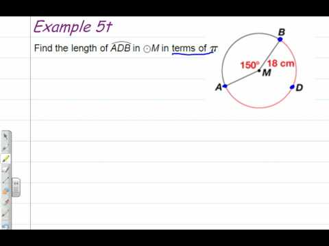 Arc Length Theorem - How to Find the Length of an Arc