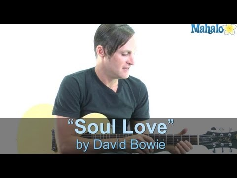 "How to Play ""Soul Love"" by David Bowie on Guitar (Practice Cover)"