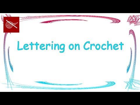 Crochet Geek - How to Make Letters on Crochet