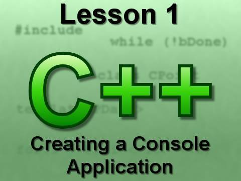 C++ Console Lesson 1: Creating a Console Application 2008 (OLD)