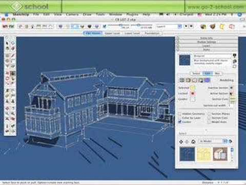 The Sketchup Show #37: SketchUp Styles (pt.1)