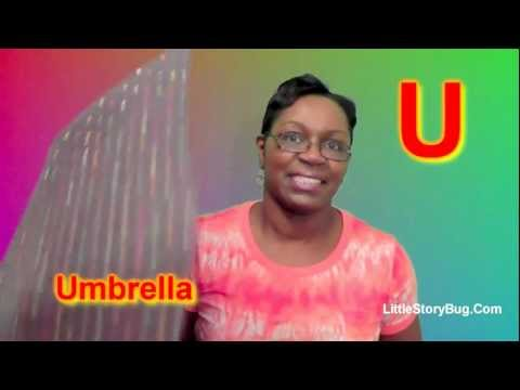 Preschool Activity - U is for Umbrella - Littlestorybug