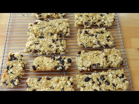 Home Made Muesli Bars - RECIPE