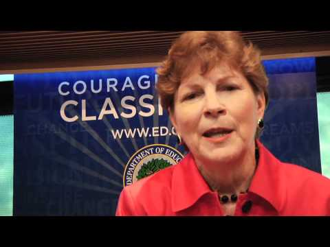Voices of Courage: Jeanne Shaheen, U.S. Senator of New Hampshire