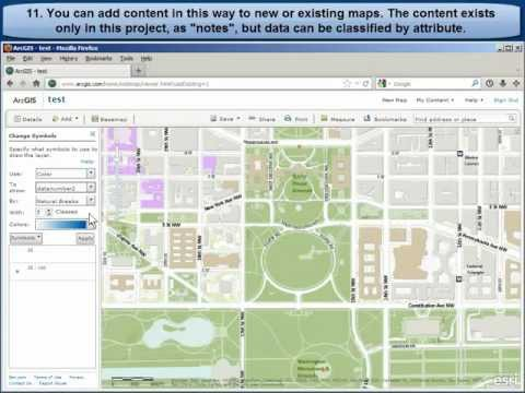 Building Data Inside ArcGIS Online