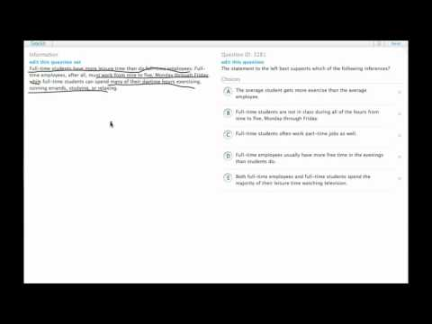 Grockit GMAT Verbal - Critical Reasoning: Question 3281
