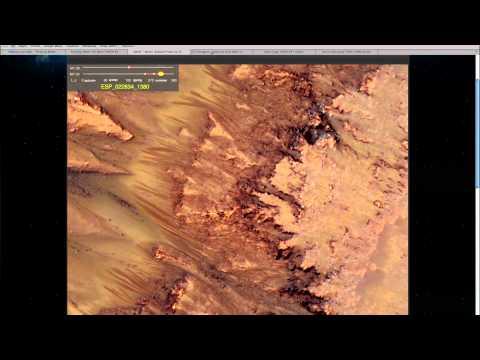 Flowing Water on Mars