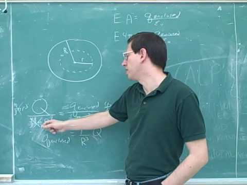 Physics: Electric field lines and Gauss's law (9)