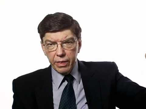 Clayton Christensen's Free-market Solution to Healthcare