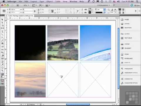 The Correct way to Place Graphics in an InDesign Document