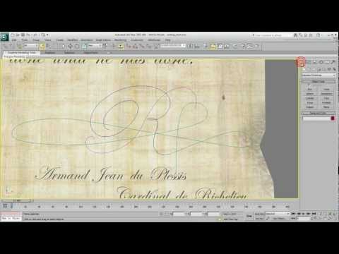 Animating Text - Self-Writing Text - Part 1