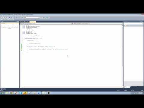 C# Beginners Tutorial - 96 - NotifyIcon Control