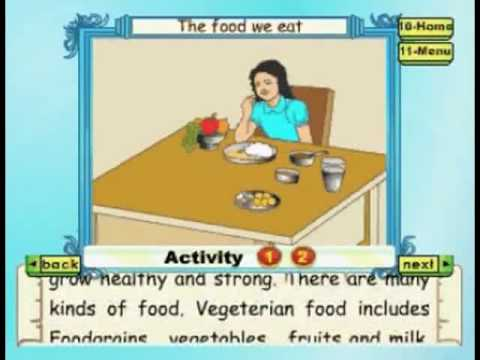 Learn - Food We Eat - Kids Animation Education Series