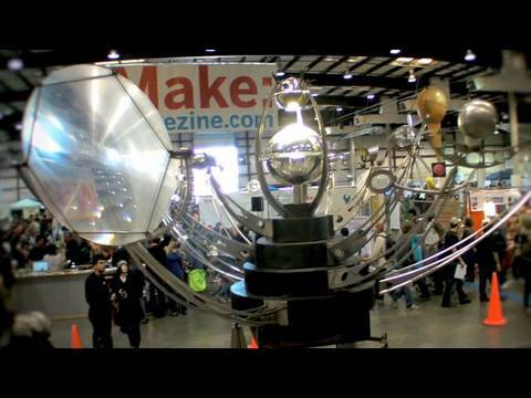Fata Morgana Kinetic Sculpture at Maker Faire