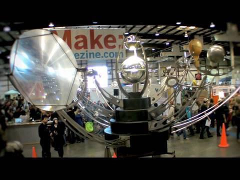 Fata Morgana Kinetic Sculpture at Maker Faire