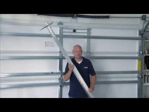 Installing a Garage Door Brace - Hurricane Preparedness