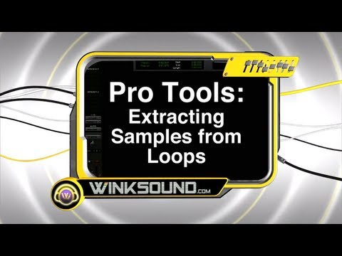 Pro Tools: Extracting Samples from Loops