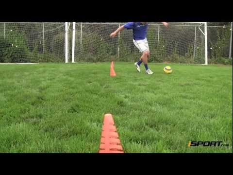 Soccer Dribbling Drills: The Alternating Dribble