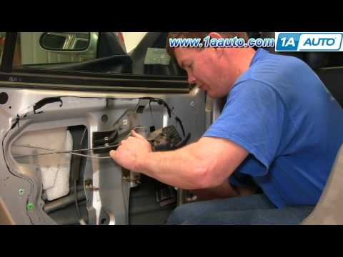 How To Install Replace Inside Rear Door Handle Buick LeSabre 00-05 1AAuto.com